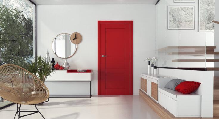 Idealne drzwi w kolorze