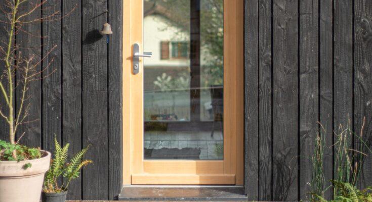 Dobre szklane drzwi