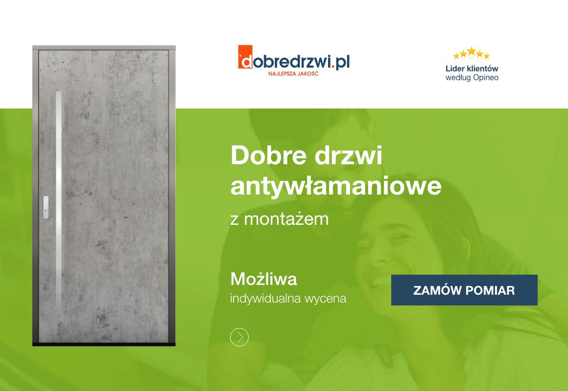 drzwi antywlamaniowe montażem w dobredrzwi.pl