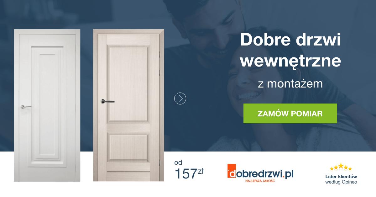 drzwi wewnętrzne montażem w dobredrzwi.pl