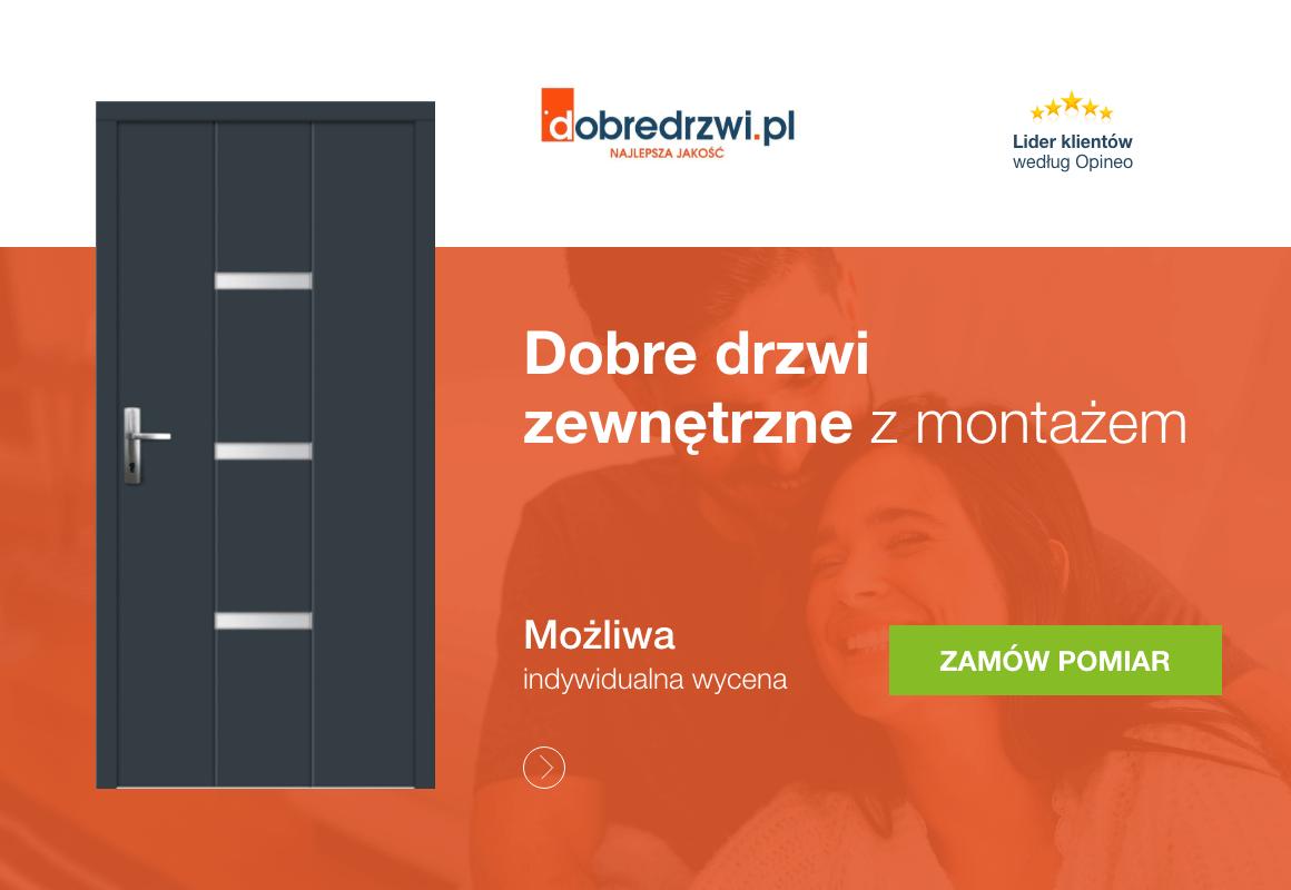 drzwi zewnętrzne montażem w dobredrzwi.pl