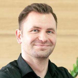 specjalista obsługi Piotr Włusek